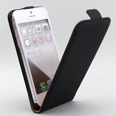 iPhone 5 Executive Leather Flip Case