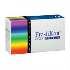 6 x 2 Lenses Pack  FreshKon COLORS FUSION-Dazzlers Monthly Cosmetic Contact Lens