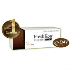6 x 30 Lenses FreshKon Alluring Eyes-Daily Wear