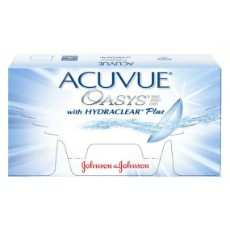 12 x 6 Lenses ACUVUE OASYS with HYDRACLEAR Plus Bi-Weekly Wear