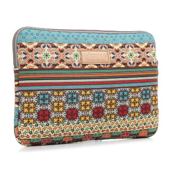 Best Deal For Bohemian Print 13 14 Laptop Sleeve In
