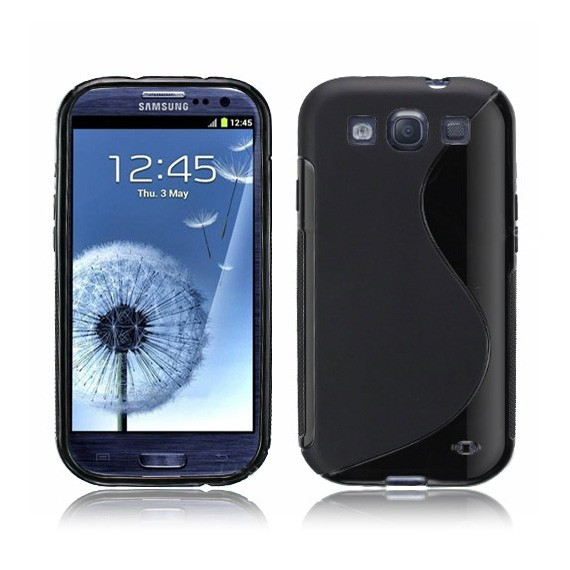 S-Line Series Silicon Case for Samsung Galaxy S3 i9300