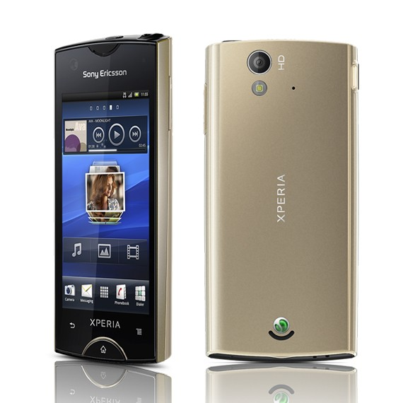 Sony Xperia ray ST18 Unlocked GSM Phone with Clear Screen Protector Set
