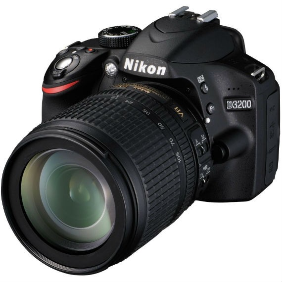 how to get shutter use on nikon d3200