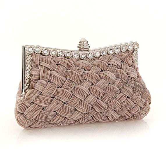 Cocktail Party Weaving Evening Clutch Bag