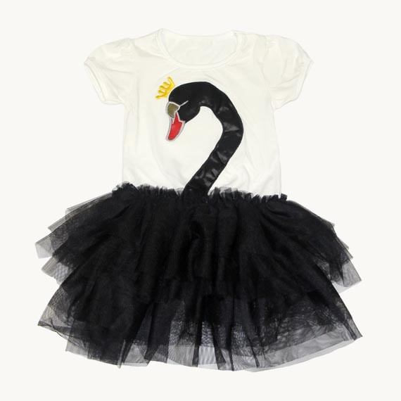 Swan Lake Ballet Tutu Dance Dress Costume for Toddler