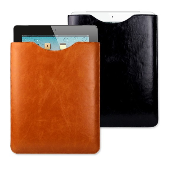 The new iPad / iPad 2 Leather Slip in Case