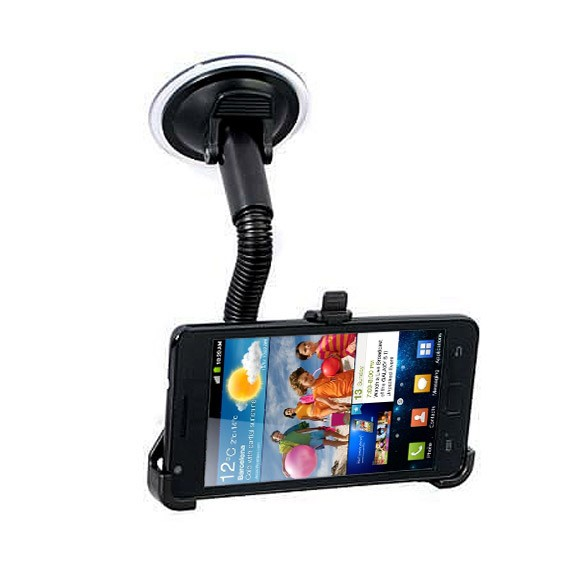 Windscreen Mount Samsung Galaxy S2 i9100 Holder