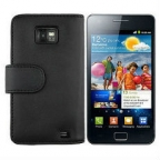 Leather Flip Case for For Samsung Galaxy S2 i9100