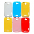 HTC One X Candy Colour TPU Jelly Case
