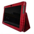 Samsung Galaxy Tab 2 (10.1) Classic Crocodile Textured Leather Folio Case