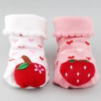 Non-slip Sweet Fruits Booty Socks for Baby