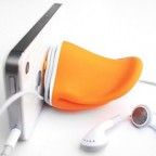 Duck Beak Earphone Holder, Key Holder and Stand for iPhone, iPod, Samsung, Sony, HTC, Nokia or others