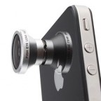 180° Detachable Fish Eye Lens for iPhone / iPad / Smartphone / Notebook