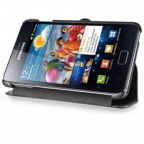 Premium Leather Flip Case for Samsung Galaxy Note