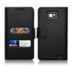 Leather Flip Case for Samsung i9100 Galaxy S2