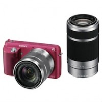 Sony Alpha NEX-F3 Digital Camera with 18-55mm f/3.5-5.6 Standard Zoom Lens n 55-200mm f/3.5-6.3 Telephoto Lens