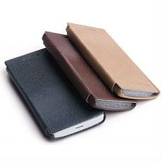 Xperia S LT26i Ultra-Thin Leather Flip Wallet Case