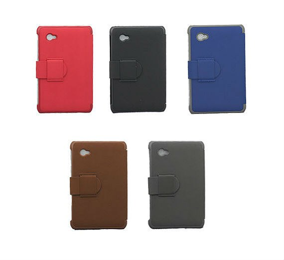 Samsung Galaxy Tab 2 (7.0) P3100 Classic Soft Textured Leather Flip Cover