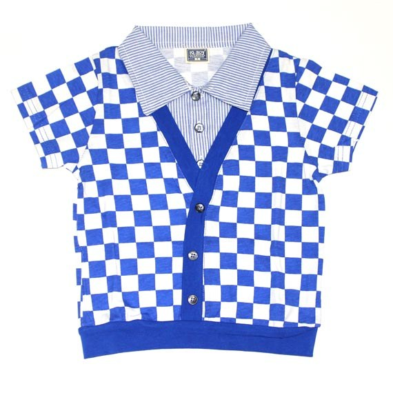 Checkers Collar Jacket for Toddler