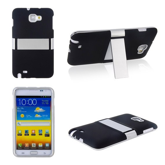 Samsung Galaxy Note Hard Matte Case with Stand Holder