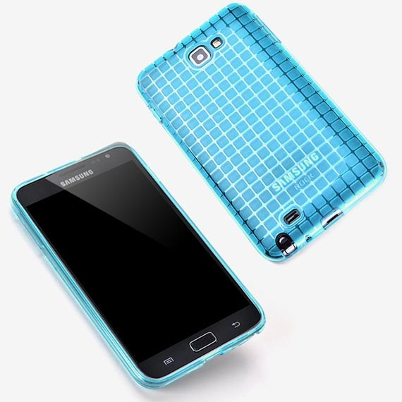Magic Cube Soft Back Cover Case  For Samsung Galaxy Note i9220