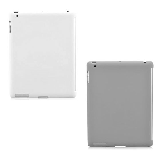 iPad2 Ultra Slim Back Cover Compatible for Smart Cover