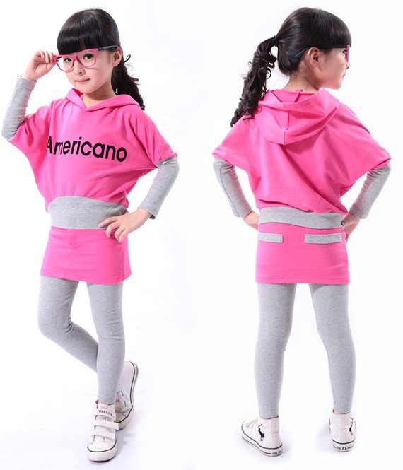 Fluorescent Hooded Outerwear for Kids