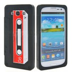 Cassette Tape Silicon Case For Samsung Galaxy S3 i9300