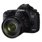 Canon EOS-5D Mark III Full Frame Digital SLR Camera Body Kit with Canon EF 24-105L Image Stabilized Lens