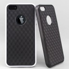 iPhone 5  Black Magic Carbon Fibre Patterned Slip-on Case