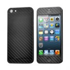 iPhone 5 Ultra Thin Carbon Fibre Textured Protective Skin