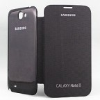 "Galaxy Note II 5.5"" Folio Flip Cover with Back Panel"