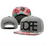 Dope Floral Snapback Cap / Classic Designer Flower Snapback Hat