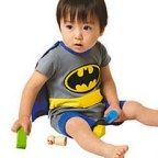 Batman Hero Baby Fancy Party Costumes Outfit