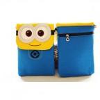 Cute Despicable Me Minion Cross Body Bag Minion Wallet Phone Bag