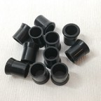 10 Pcs New Diameter 9mm SOFTY Rubber Tobacco Smoking Pipe Tip Grips