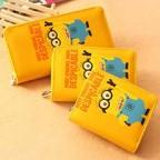 Cute Despcable Me Minion Cartoon Wallet