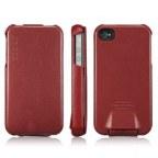 Premium Leather Flip Case for iPhone4/4S