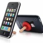 Plunger Sucker iphone4s iphone5 Stand