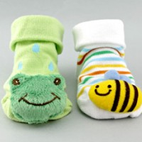 Non-slip Animal Booty Socks for Baby