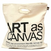 I'm not a Paper Bag - Environmental Friendly Canvas Bag