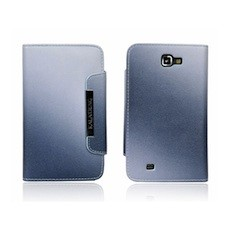 Galaxy Note Leather Wallet Case with Inbuilt Stand in Gradient Colours