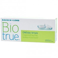 7 x 30 Lenses Bausch & Lomb Bioture 1 Day Daily Disposable