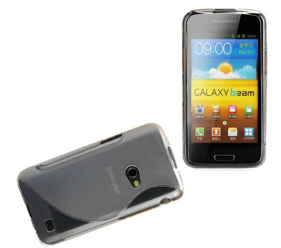 Samsung Galaxy Beam i8530 Premium Wavy Silicone Shield Case