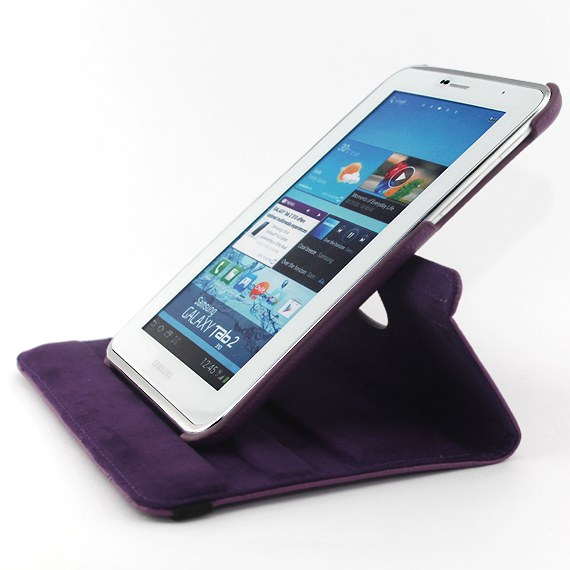 Samsung Galaxy Tab 2 (7.0) 360 Degree Rotatable Leather Case