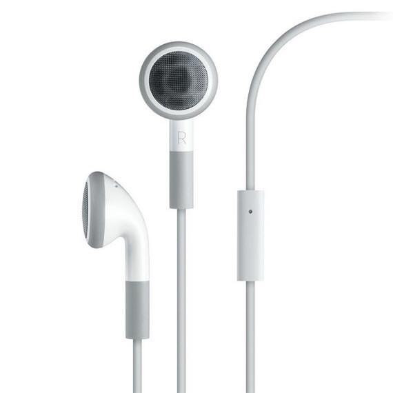 Earphones with Remote and Mic for iPhone, iPad, iPod Touch