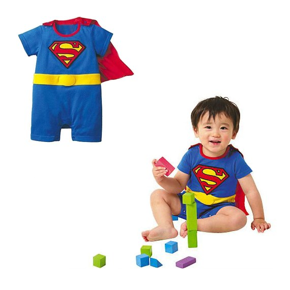 Superhero Outfit for Babies and Kids