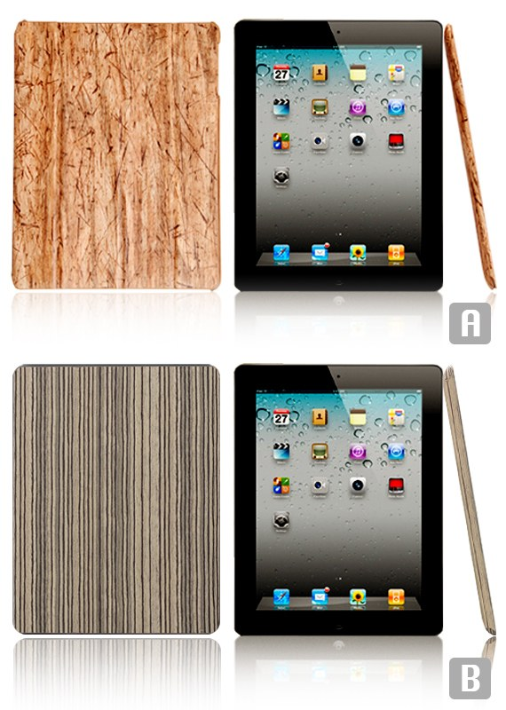 iPad2 Wooden Flip Case