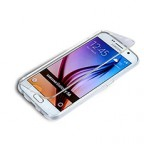 Fully Transparent Samsung Galaxy S6 direct touch Flip Case